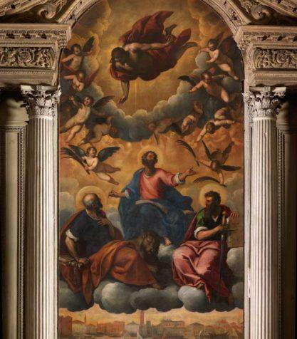 sezione.2.San Marco in gloria con i santi Pietro e Paolo