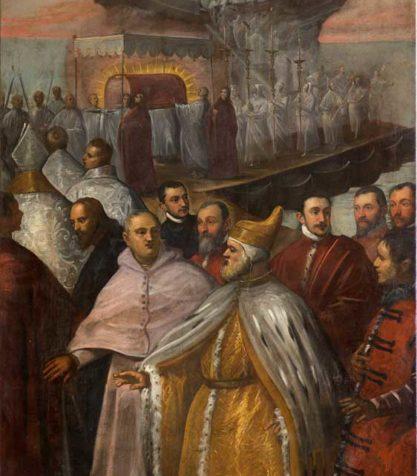 Sbarco a Venezia del corpo di San Marco