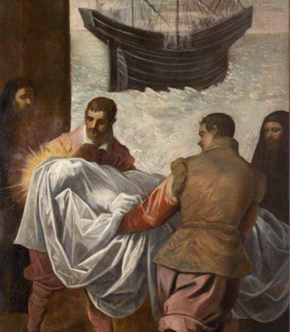 Trasporto del corpo di San Marco alla nave veneziana