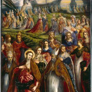 """Pala d'Altare """"Sant'Orsola e le undici mila Vergini"""""""